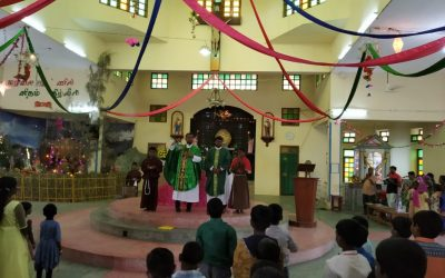 Father Nathan Presides at Wedding in India