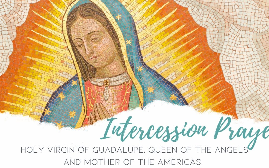 Prayer for Intercession to our Blessed Mother during Coronavirus