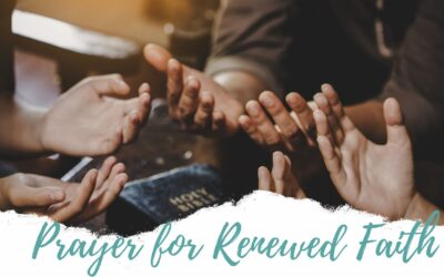 Prayer for Renewed Faith