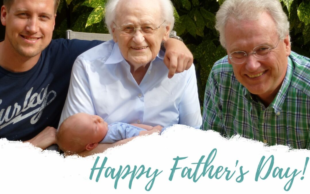 Happy Father's Day Prayers + Musings